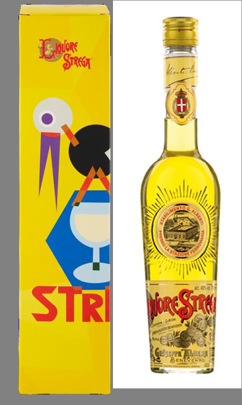 Liquore Strega 700 ml - 40% Vol. Astuccio
