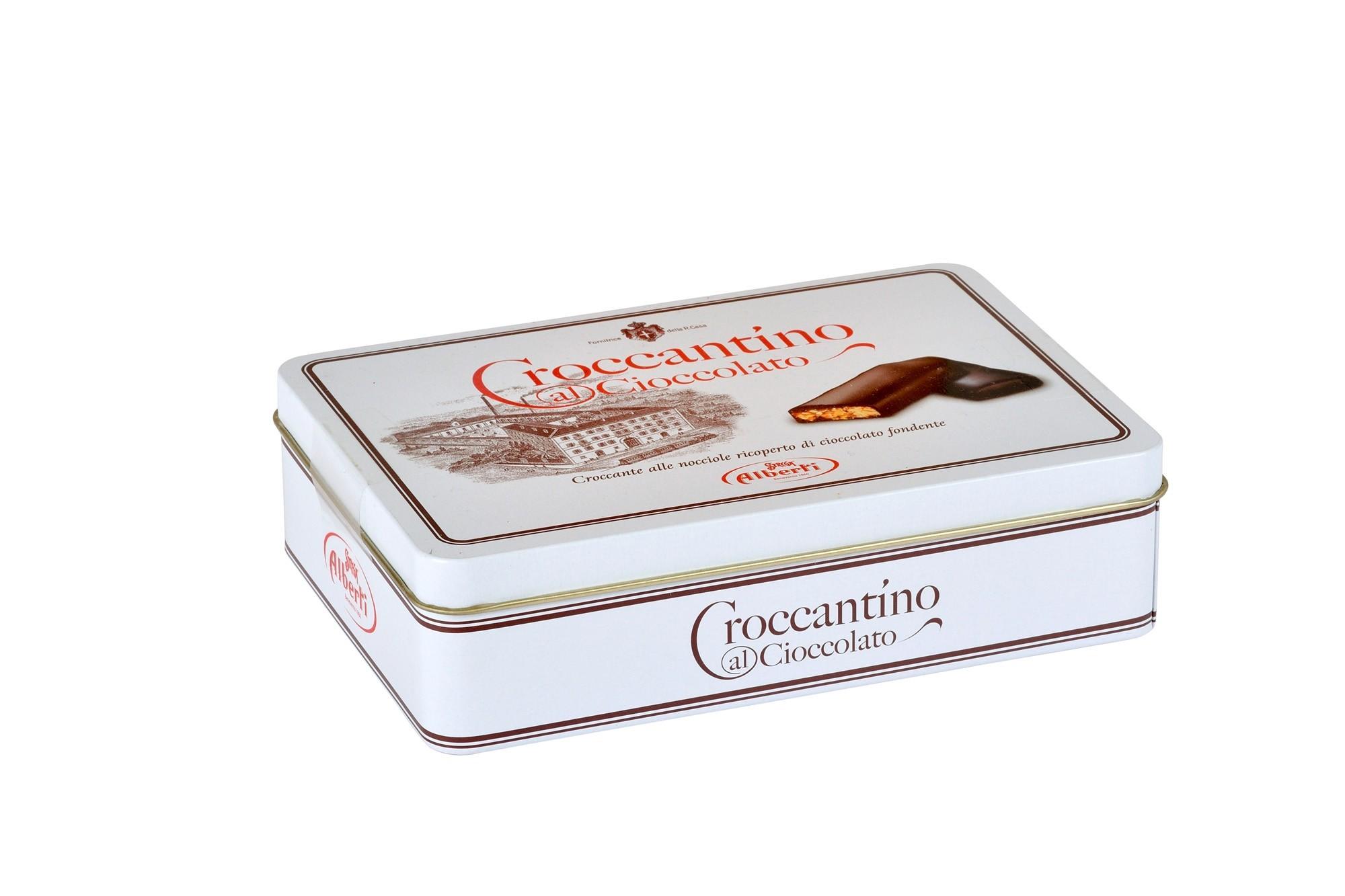 Croccantino al Cioccolato 200g Latta