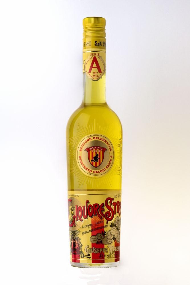 Liquore Strega 700 ml - 40% Vol. Edizione Celebrativa Benevento in A